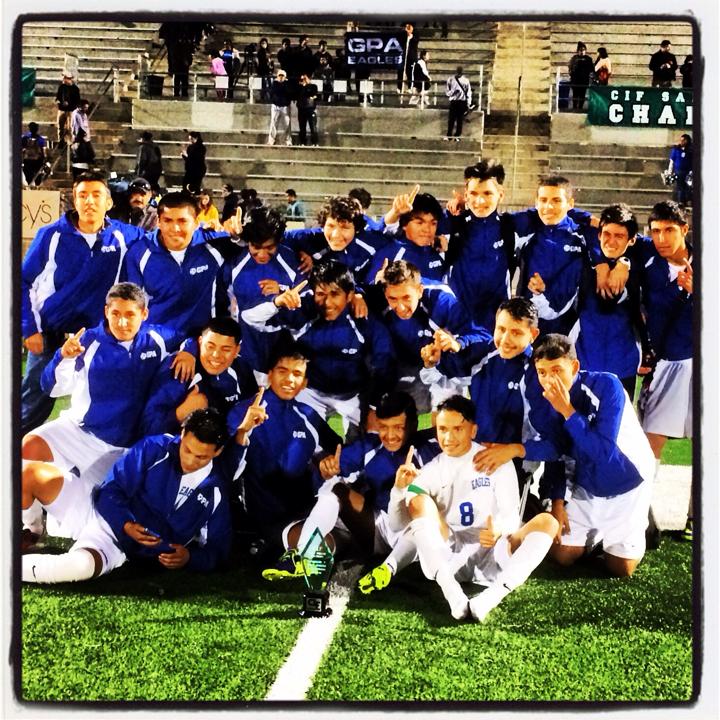 GPA Soccer vs. Valley Christian Monday 4:00pm at Gompers Prep Field