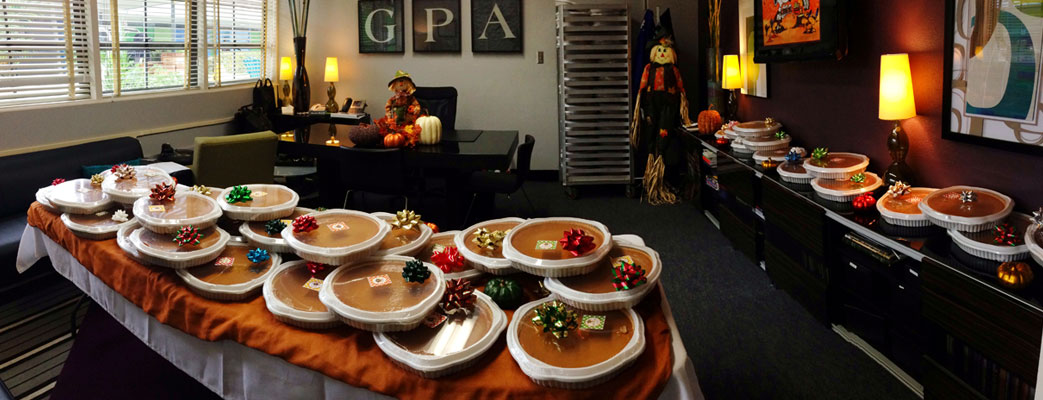 GPA Support Staff Celebrated Before Break