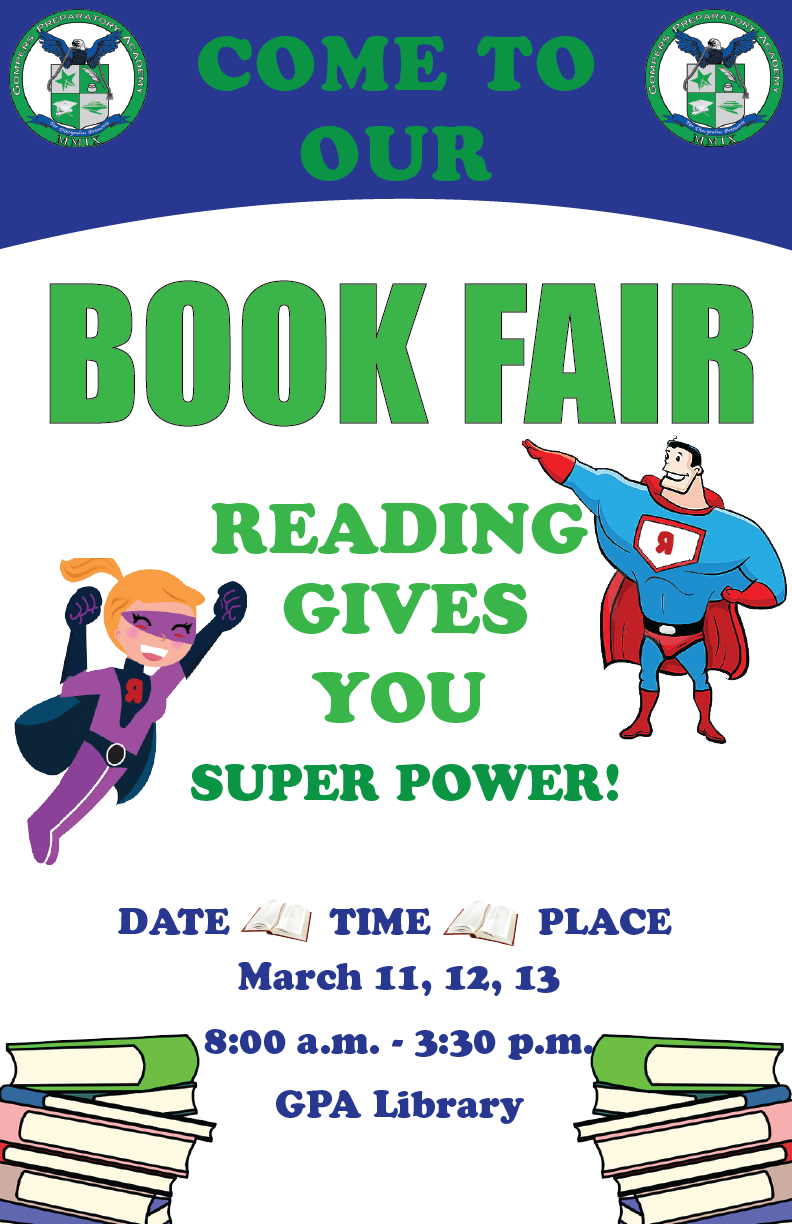 GPA Book Fair Right Around the Corner!