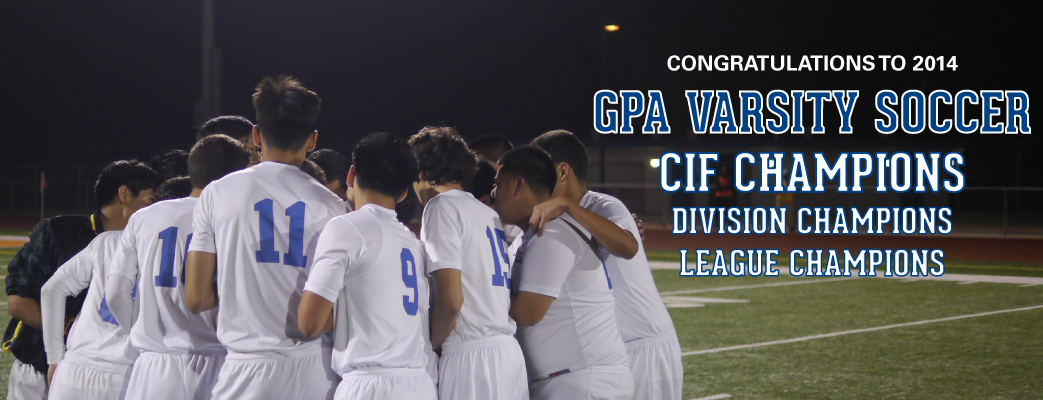 GPA Boys Varsity Soccer Outstanding Season