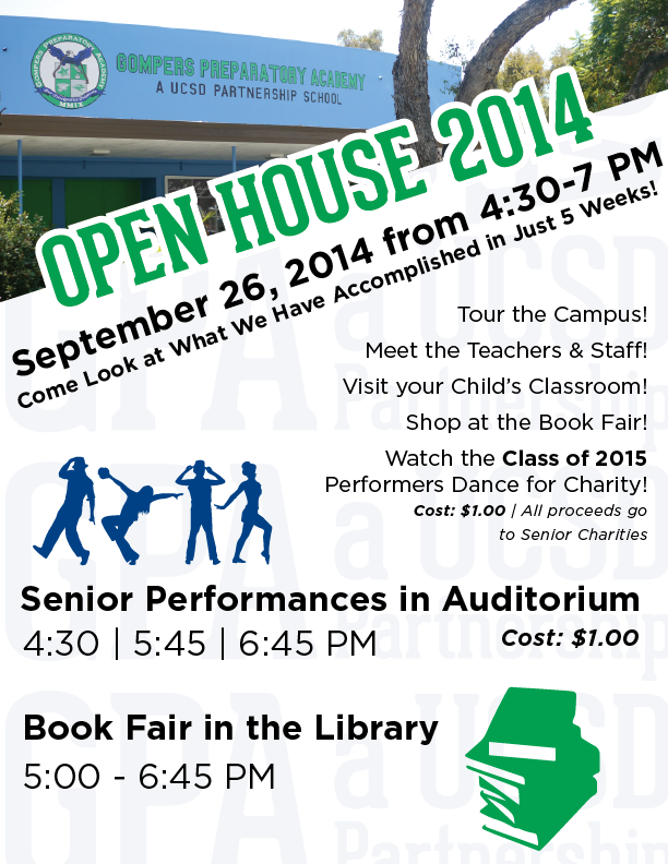 GPA Open House is Almost Here!