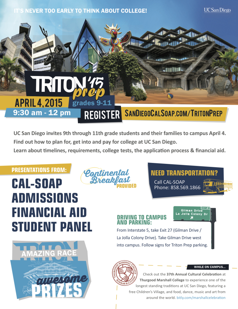 TritonPrep 2015 Flyer hi res