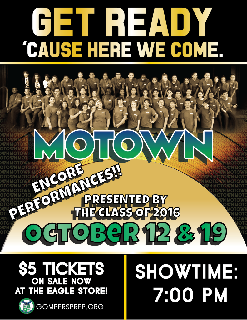 Encore Performances of Motown Open House Show October 12 & 19!!!