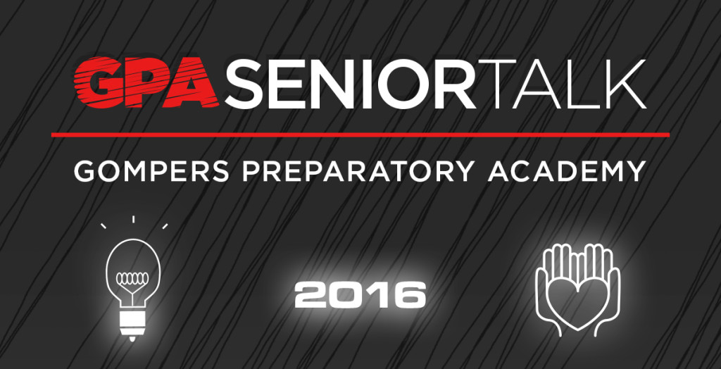 GPA Invites You to Senior Talk 2016
