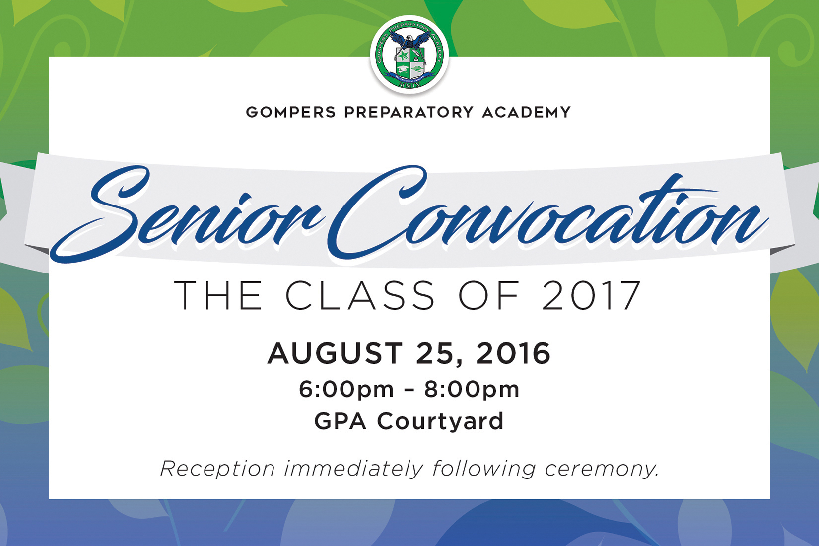 GPA Celebrates the Class of 2017