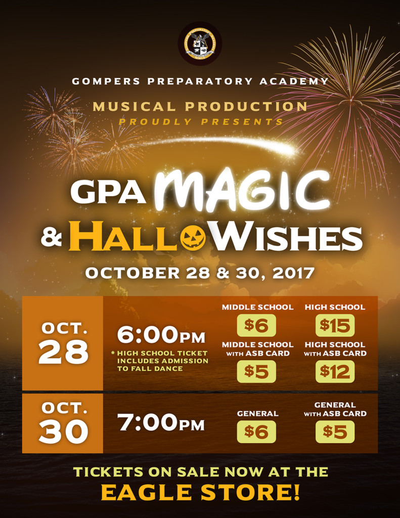 Get Your Tickets to GPA Magic & HalloWishes!