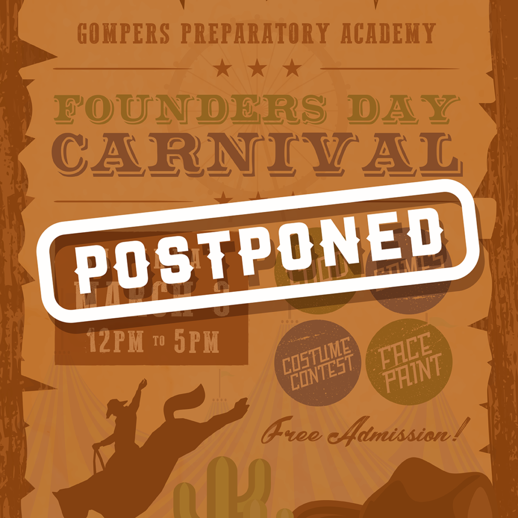 Founders Day Carnival Postponed