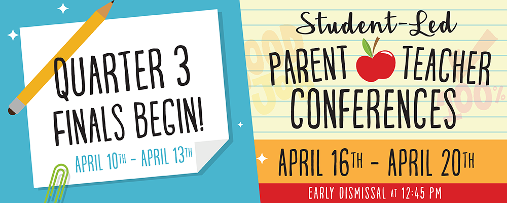 Conference For Parents Saturday April >> Quarter Finals And Parent Teacher Conferences Begin Gompers