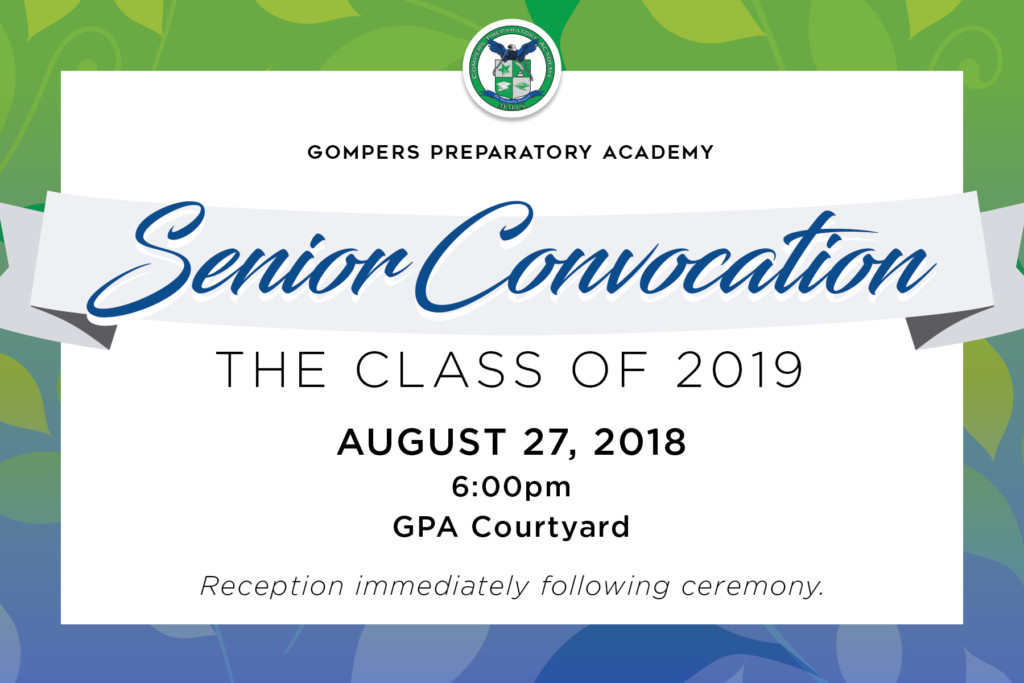 The Class of 2019: Senior Convocation