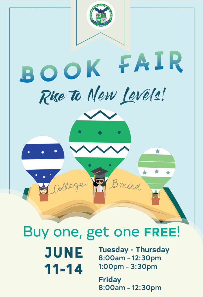 Rise to New Levels! Last Book Fair of the School Year