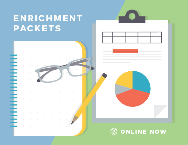 Enrichment Packets Online Now