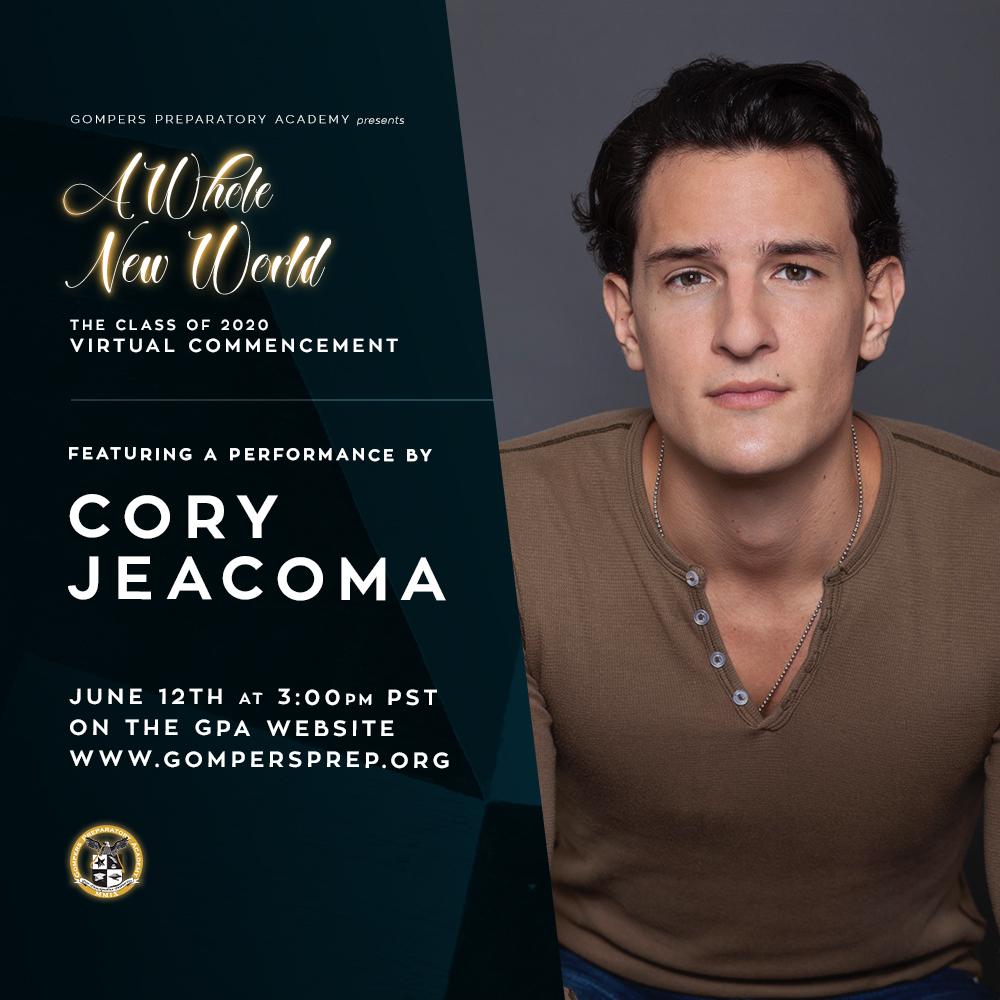 Virtual Graduation Performer: Cory Jeacoma