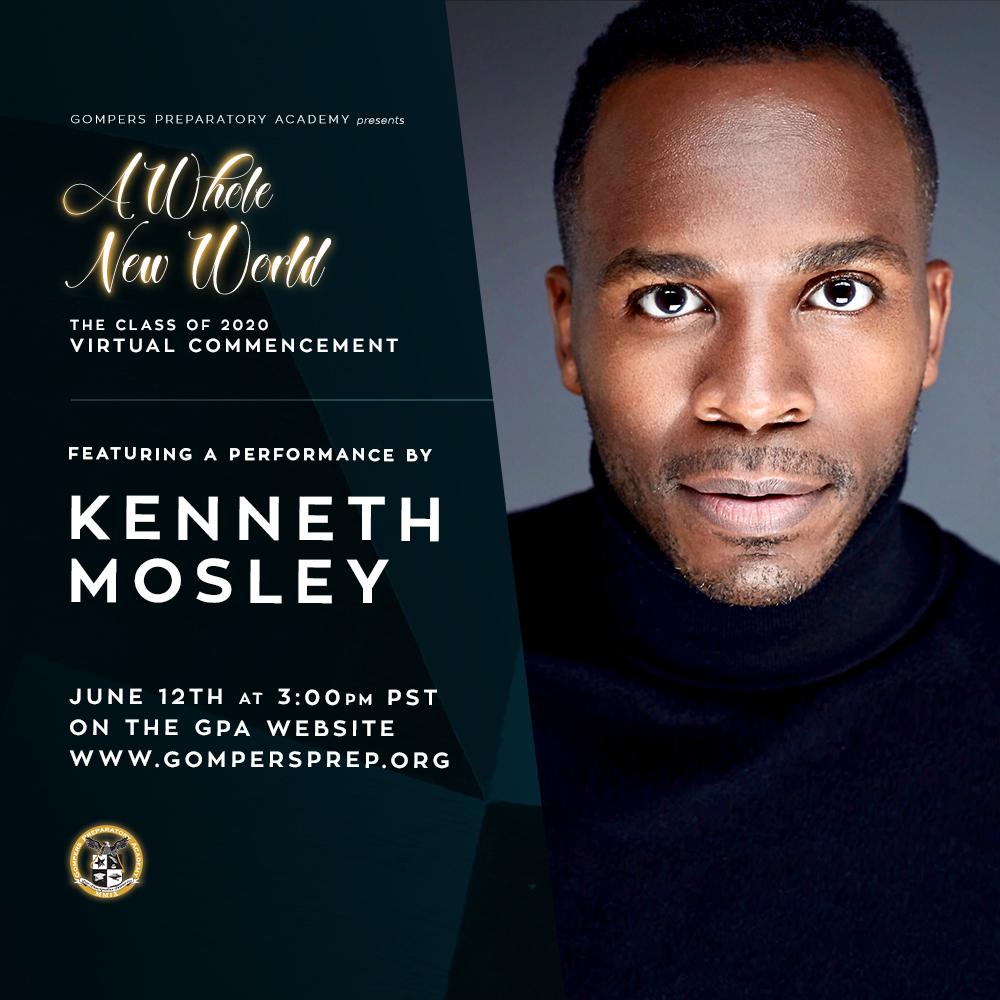 Virtual Graduation Performer: Kenneth Mosley
